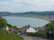 view of Llandudno beach