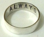 Always Commitment Band, Custom Made Ring